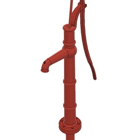 Vandpumper røde 3 stk.