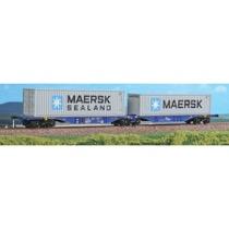 """Rurtalbahn dobbeltvogn """"MAERSK MAERSK/SEALAND"""""""