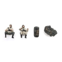 WM Kettenkrad crew (2 fig) + Luggage winter