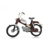 Motorcycle: Puch red
