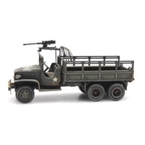 US GMC 353 open cab cargo/1machine gun