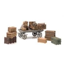Perrongods - diverse gods og vogn