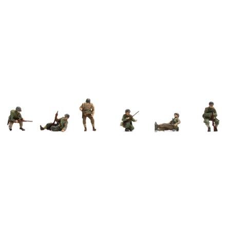 US Infantry on tank (6 fig)