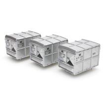 DAF lukket container sølv NS (3 stk)