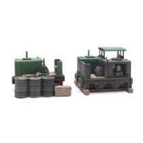 Cargo: Three narrow-gauge locomotives