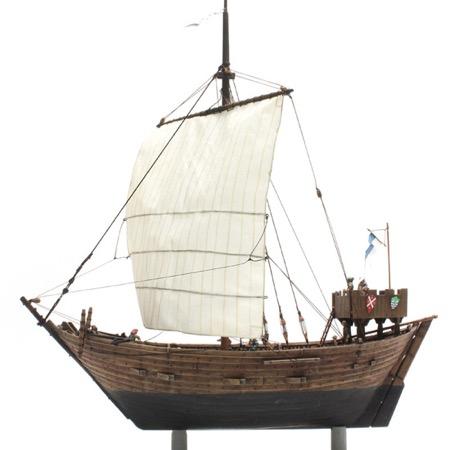 Cog ship 14th century