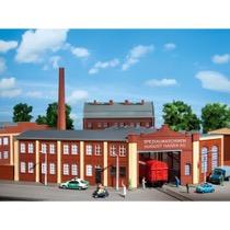 Fabriks portbygning