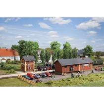 Banegård Steinbach med vandhus