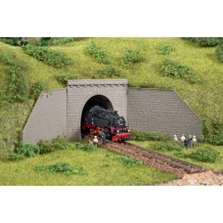 Tunnelportal enkeltsporet