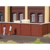 Mur med topplade