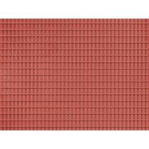 Dekorplade Tagsten Rød