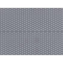1 Dekorplatte Fußsteig grau lose