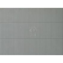 1 Dekorplatte Trapezblech grau lose