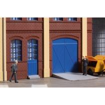 Porte og Døre - blå, Trapper og ramper
