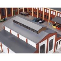 Dach mit Oberlicht