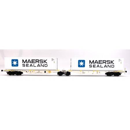 AAE dobbelt containervogn MAERSK