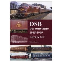 DSB Personvogne 1945-1969 Litra A til F