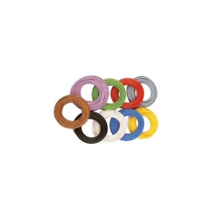 Dekoder Ledning 0,05 mm², 10 m - Grå