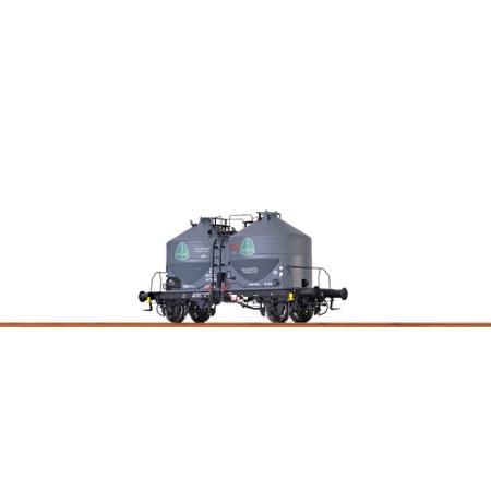 """Staubbehälterwagen Ucs 908 """"Quarz Werke"""" der DB DC"""
