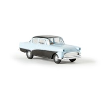 Opel Rekord PI, hellblau/schwarz