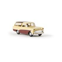 Opel Rekord PI CarAVan, beige/weinrot