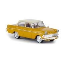 Opel Rekord P2 Limousine, gul/råhvid