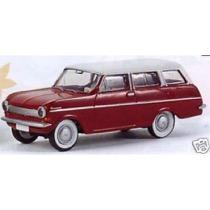 Opel Kadett A CarAVan, rubinrot/weiß von Drummer
