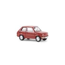 Fiat 126, rot von Drummer