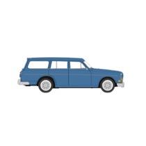 Volvo Amazon Kombi, brillantblau, TD