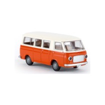 Fiat 238 bus, hvid/orange