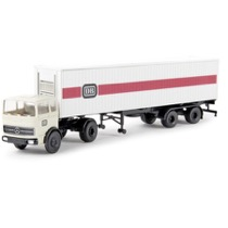 "MB LPS 1620 Sattelzug mit 40ft-Container der ""DB"""