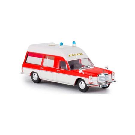 MB Falck Ambulance, hvid/rød