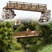 Holzbrücke H0