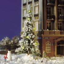 Juletræ til torveplads m.lys