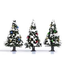 3 Juletræer