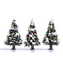 3 Weihnachtsbäume H0