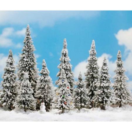 Snedækkede træer - 10 styk
