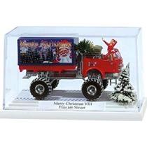 "Diorama - Monster Truck ""Merry Christmas"" med nissepige"