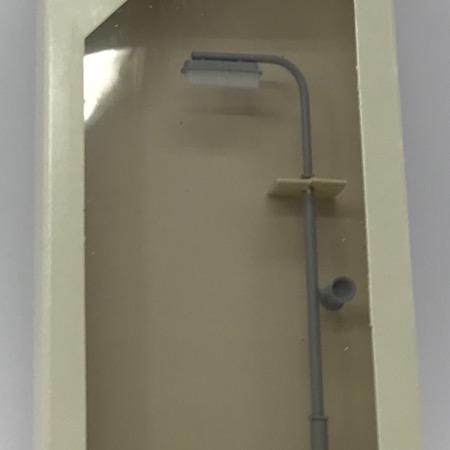 Perronlampe ny type m. højtaler