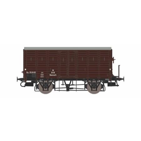 DSB QGR 35 043, platform, pladehjul