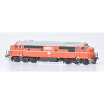 Tågkraft TMX 1033 (Orange), DC, no sound DC