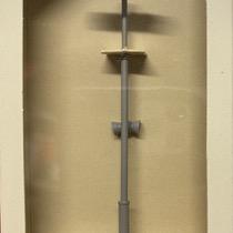 Perronlampe ny type (lang) M. højtaler
