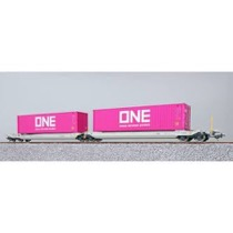 "Twin AAE lommevogn med  ""ONE"" containere"