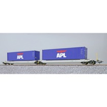 "Twin AAE lommevogn med  ""APL"" containere"