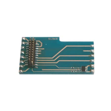 Adapterlokplatine L-Form wie 6090x, mit