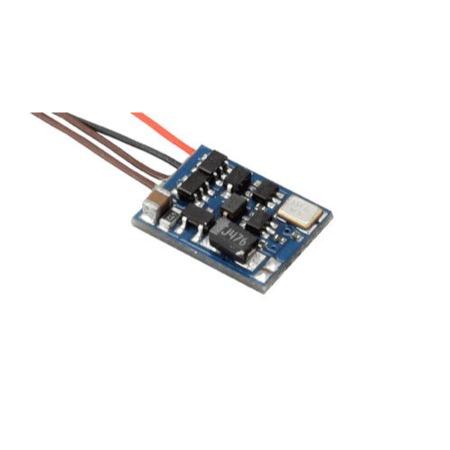 RailCom® Sendemodul, mit Anschlussleitungen, 5 Stück