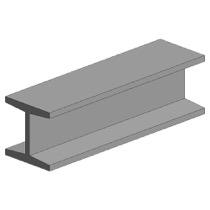 H-profil, 1,5X1,5 mm