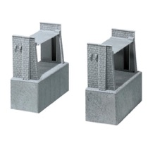 Bridge parapet set