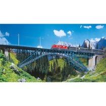 Bietschtal bridge, two-track