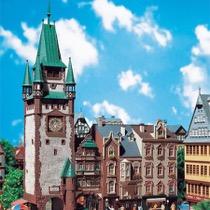 St. Martin's gate in Freiburg i